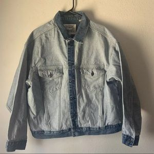 Levis Made & Crafted Denim About Face Jacket M